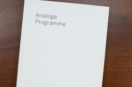 analogeProgramme